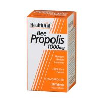 Health Aid Bee Propolis 1000mg Για Το Ανοσοποιητικό & Την Καλή Υγεία Του Οργανισμού 60 Ταμπλέτες