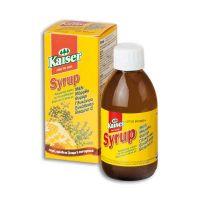 Kaiser Σιρόπι Για Το Λαιμό Με Βότανα, Μέλι & Βιταμίνη C 100ml