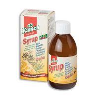 Kaiser Σιρόπι Για Το Λαιμό Με Βότανα, Μέλι & Βιταμίνη C Γεύση Κεράσι 200ml