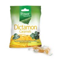 Power Health Dictamon Caramels Καραμέλες Με Κρητικό Δίκταμο & Μέλι Γεύση Κανέλα 60g