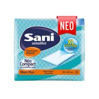Sani Sensitive Υποσέντονα Maxi Plus 90*60cm 15τμχ