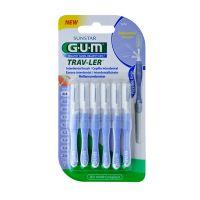 Gum Trav-Ler Μεσοδόντια Βουρτσάκια Με Καπάκι 0.6mm 6τμχ