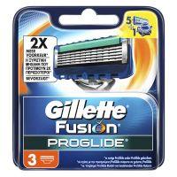 Gillete Fusion Proglide Ανταλλακτικά Ξυριστικής Μηχανής 3τμχ