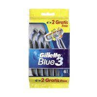 Gillete Blue 3 Ξυραφάκια Μίας Χρήσης 4+2 Δώρο