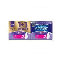 Always Platinum Ultra Super Plus No2 Σερβιέτες 7τμχ 1+1 Δώρο