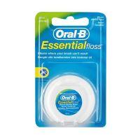 Oral-B Essential Floss Οδοντικό Νήμα Με Κερί Γεύση Μέντα 50m