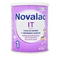 Novalac IT 1 Γάλα Σε Σκόνη 1ης Βρεφικής Ηλικίας 0-6m 400g