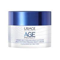 Uriage Age Protect Απολεπιστική Κρέμα Αναδόμησης Νυκτός Πολλαπλών Δράσεων Για Όλες Τις Επιδερμίδες 50ml