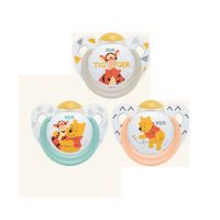 Nuk Winnie The Pooh Πιπίλα Καουτσούκ 0-6m 1τμχ