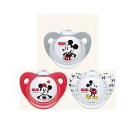 Nuk Disney Πιπίλα Σιλικόνης Με Πεπλατυσμένο Κουμπί Ιδανικό Για Τον Ύπνο 6-18m 1τμχ