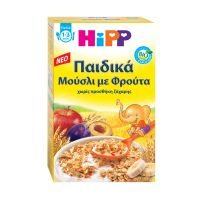 Hipp Παιδικά Μούσλι Με Φρούτα 1-3 Ετών 200g
