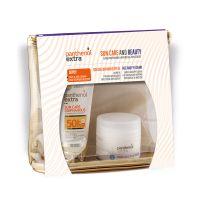 Panthenol Extra Set Με Sun Care Diaphanous Αόρατο Αντηλιακό Τζελ Προσώπου Spf50 50ml & Δώρο Αντιρυτιδική Κρέμα Ημέρας Προσώπου/Ματιών 50ml