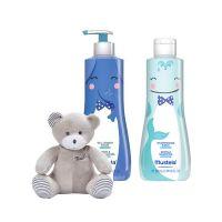 Mustela Set Limited Edition Με Απαλό Αφροντούς Σώματος/Μαλλιών 500ml & Απαλό Σαμπουάν 500ml & Δώρο Αρκουδάκι