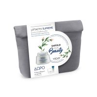 Vichy Unfold Your Beauty Set Με Liftactiv Supreme Κρέμα Ημέρας Αντιγήρανσης & Ανόρθωσης Για Κανονικό/Μικτό Δέρμα 50ml & Δώρο 2 Προϊόντα Για Την 24ωρη Καθημερινή Σου Φροντίδα