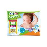 Babylino Sensitive Πάνες Με Χαμομήλι Νο2 Mini 3-6kg 26τμχ