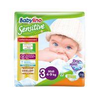 Babylino Sensitive Πάνες Με Χαμομήλι Νο3 Midi 4-9kg 22τμχ