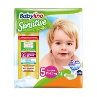 Babylino Sensitive Πάνες Με Χαμομήλι Νο5 Junior 11-25kg 18τμχ