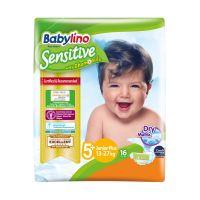 Babylino Sensitive Πάνες Με Χαμομήλι Νο5+ Junior Plus 13-27kg 16τμχ