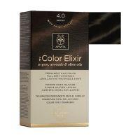 Apivita My Color Elixir Μόνιμη Βαφή Μαλλιών 4.0 Καστανό
