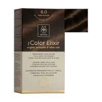 Apivita My Color Elixir Μόνιμη Βαφή Μαλλιών 6.0 Ξανθό Σκούρο