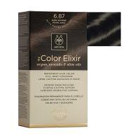 Apivita My Color Elixir Μόνιμη Βαφή Μαλλιών 6.87 Ξανθό Σκούρο Περλέ Μπεζ