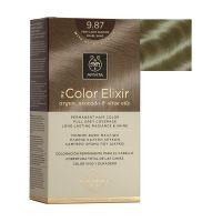 Apivita My Color Elixir Μόνιμη Βαφή Μαλλιών 9.87 Ξανθό Πολύ Ανοιχτό Περλέ Μπεζ