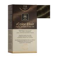 Apivita My Color Elixir Μόνιμη Βαφή Μαλλιών 7.13 Ξανθό Σαντρέ Μελί