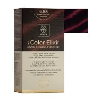 Apivita My Color Elixir Μόνιμη Βαφή Μαλλιών 6.65 Έντονο Κόκκινο