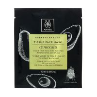Apivita Express Beauty Tissue Μάσκα Προσώπου Με Αβοκάντο Για Ενυδάτωση & Καταπράυνση 10ml
