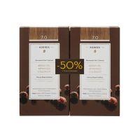 Korres Set Argan Oil Advanced Colorant Μόνιμη Βαφή Μαλλιών 7.0 Ξανθό 2τμχ -50% Στη 2η Βαφή