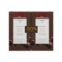 Korres Set Argan Oil Advanced Colorant Μόνιμη Βαφή Μαλλιών 6.4 Ξανθό Σκούρο Χάλκινο 2τμχ -50% Στη 2η Βαφή