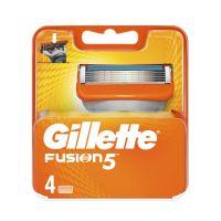 Gillette Fusion5 Ανταλλακτικές Κεφαλές Ξυρίσματος 4τμχ