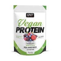 QNT Vegan Protein Ρόφημα Πρωτεΐνης Με Γεύση Red Fruit Party 500g