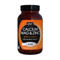 QNT Calcium Magnesium Zinc 60 Tabs