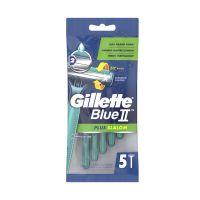 Gillette Blue II Plus Slalom Ξυραφάκια Μίας Χρήσης 5τμχ
