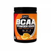 QNT BCAA 8500 Συμπλήρωμα Διατροφής Με Γεύση Πορτοκάλι Για Μυϊκή Συντήρηση & Απόδοση 350g