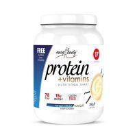 QNT Easy Body Protein Powder Ρόφημα Πρωτεΐνης Με Γεύση Vanilla/Cream 350g