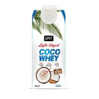 QNT Light Digest Coco Whey Νερό Με Πρωτεΐνη & Γεύση Natural Coconut 330ml