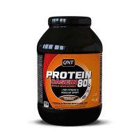 QNT Protein 80 Αποκατάσταση Για Κάθε Είδους Άθλημα Συμπλήρωμα Διατροφής Με Γεύση Σοκολάτα 750g
