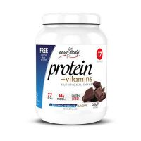 QNT Easy Body Protein Powder Ρόφημα Πρωτεΐνης Με Γεύση Belgian Chocolate 350g