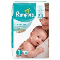 Pampers ProCare Πάνες Νο1 2-5kg 38τμχ