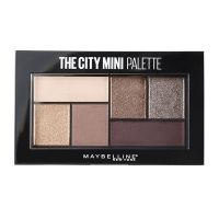 Maybelline The City Mini Palette Παλέτα Σκιών 410 Chill Brunch 6g