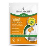 Pharmasept Aid Επίθεμα Ζέστης Με Φυσικά Εκχυλίσματα Βοτάνων Για Άμεση Ανακούφιση Από Τον Πόνο 9x14cm 1τμχ