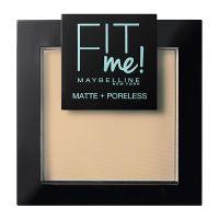 Maybelline Fit Me! Πούδρα Για Κανονικό/Λιπαρό Δέρμα 220 Natural Beige 9g