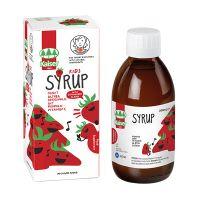 Kaiser Kids Σιρόπι Για Το Λαιμό Με Βότανα, Πρόπολη & Βιταμίνη C Με Γεύση Φράουλα 200ml