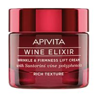 Apivita Wine Elixir Αντιρυτιδική Κρέμα Για Σύσφιξη & Lifting Πλούσιας Υφής 50ml