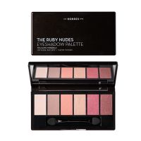 Korres Volcanic Minerals Παλέτα 6 Σκιών The Ruby Nudes 6g