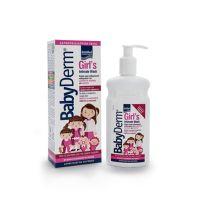 Babyderm Girl's Intimate Wash Απαλό Υγρό Καθαρισμού Της Ευαίσθητης Περιοχής Για Κορίτσια 300ml