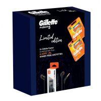 Gillette Set Fusion 5 Limited Edition Ανταλλακτικά Ξυριστικής Μηχανής 8τμχ & Δώρο JBL Hands Free Ακουστικά