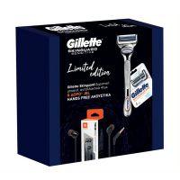 Gillette SkinGuard Set Sensitive Ξυριστική Μηχανή & Ανταλλακτικά 4τμχ & Δώρο JBL Hands Free Ακουστικά
